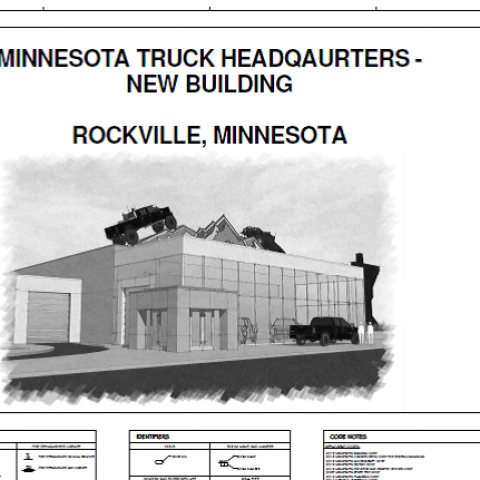 Minnesota Truck Headquarters Rockville, MN.