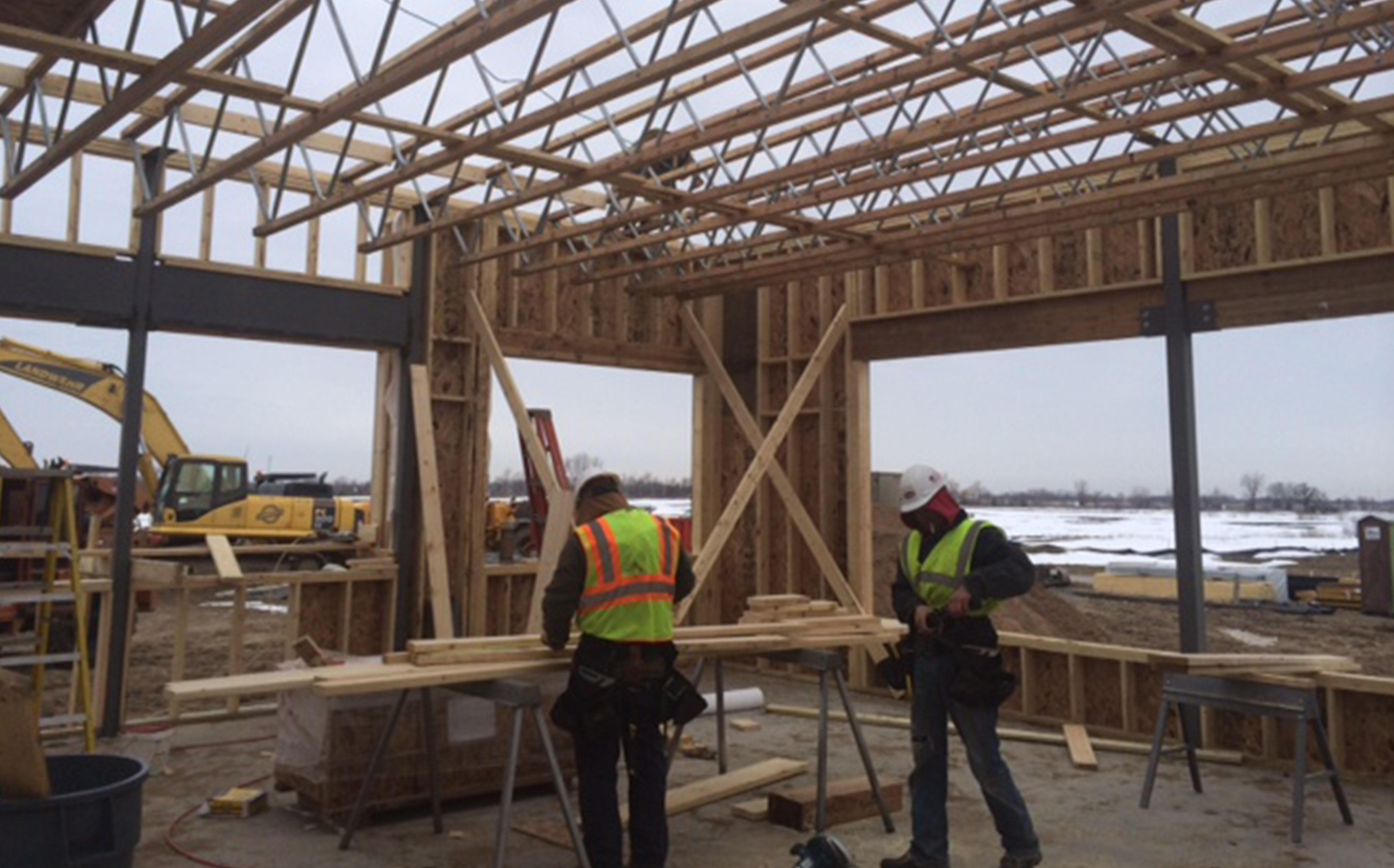 Rough Carpentry - Alliance Building Corporation